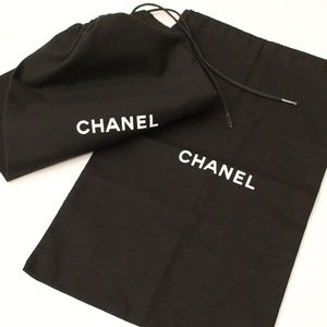 NEW CHANEL Dust Bags - Set of 2